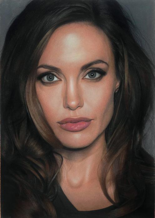 Angelina Jolie por Lizapoly